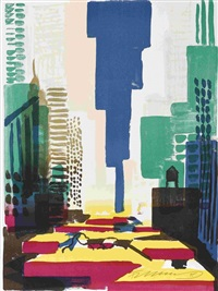 n. y. taxis by rainer fetting
