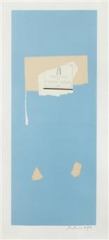 pauillac, #4 (from summer light series) by robert motherwell