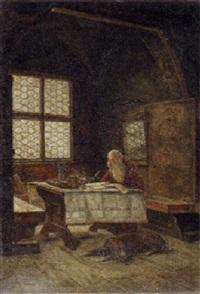 the scholar by fritz hermann armin