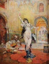 la danseuse orientale by mariano josé maría bernardo fortuny y carbó