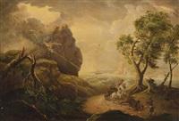 lightning by julius caesar ibbetson