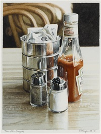 tin with sugars by ralph goings