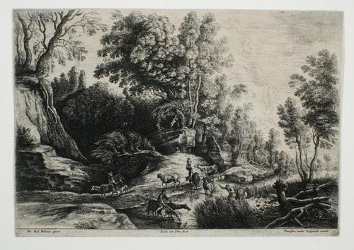 landschaft mit pferden und kühen an der tränke after peter paul rubens by lucas van uden