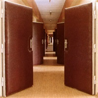stasi city (interview corridor, hohenschönhausen prison) by jane & louise wilson