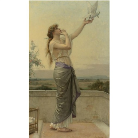 loves messenger by alexandre cabanel