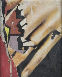 décollage by mimmo rotella