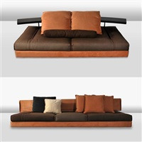avedon large 2-piece sectional sofa by mauro lipparini