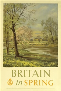 britain in spring by donald chisholm towner