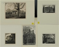 the old manse, concord (+ 4 others; 5 works) by thomas willoughby nason