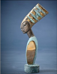 egyptiläinen nainen by veikko myller