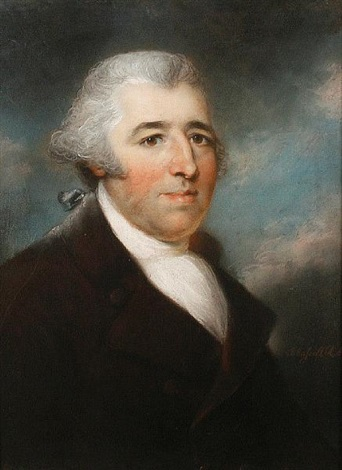 portrait of mr howarth by john russell