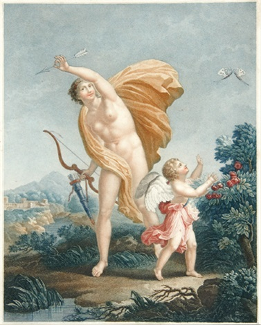 venus and cupid by alexandre vincent sixdeniers