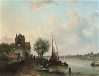 the leidse vaart by j.c. corver