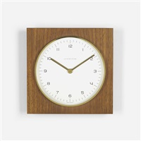 wall clock by max bill