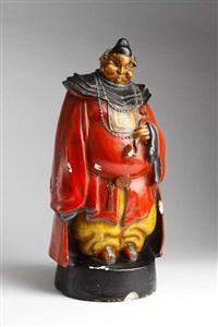 figur tartaglia (painted by ernst stern) by rudolf belling