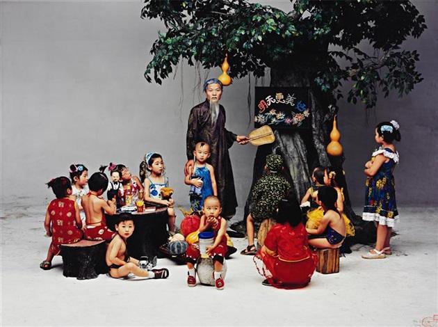 pre school by wang qingsong