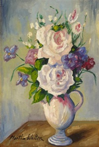 spring flowers by martha walter