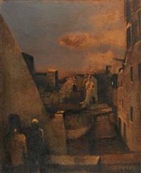 vue de la croix-rousse by jean batail