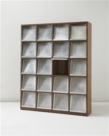bookcase model no pj r 26 a designed for the university library chandigarh by pierre jeanneret