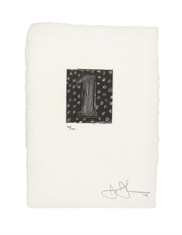 artwork 1 by jasper johns
