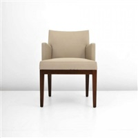 leather side chair by christian liaigre