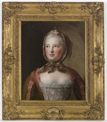 portrait présumé de madame rubie manini by françois hubert drouais