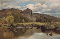 castle craig, st. john's in the vale, near keswick by reginald aspinwall