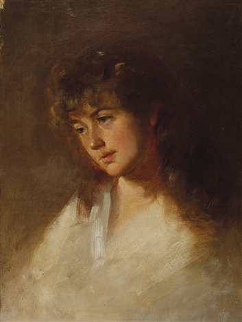 portrait of louisa ann wilkinson by tudor st george tucker