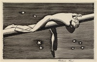 frontispiece from the lakeside press moby dick by rockwell kent