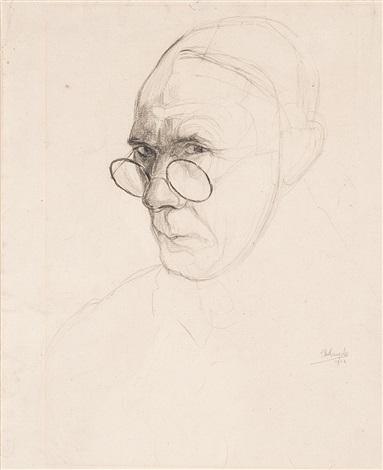 autoportrait by jules de bruycker