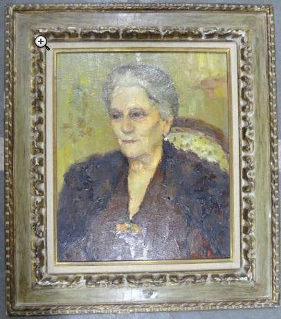portrait dune vieille dame by marcel dyf