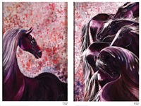 percepción (diptych) by lourdes ariza