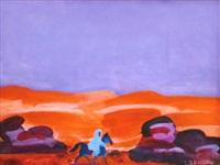la nuit dans le désert by charles lapicque