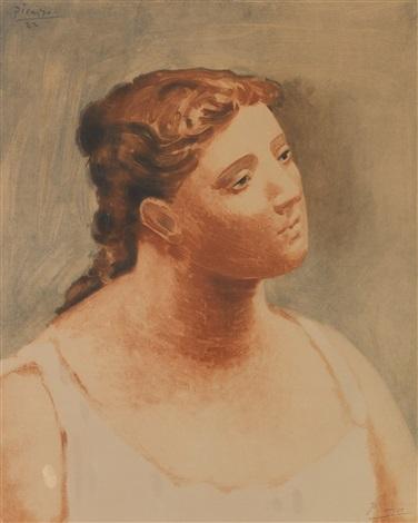 Buste de femme by Pablo Picasso on artnet