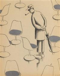 hulot et les chaises by david merveille