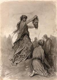 judith et holopherne by gustave doré