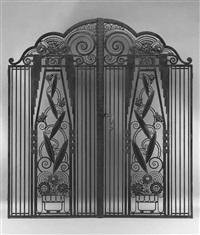 gates (pair) by paul kiss