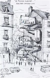 pignons habité by sylvio d' ascia