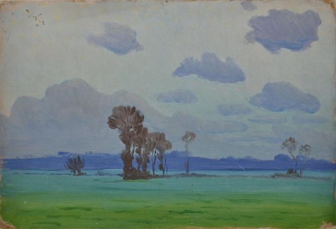 plaine bleutée by charles victor guilloux