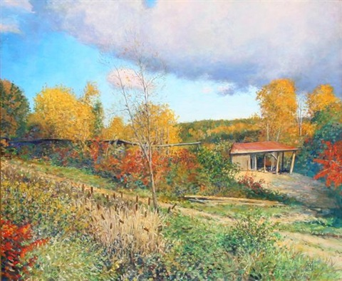 the old sawmill at westminster vermont by wally ames
