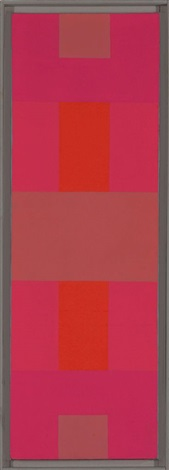 abstract painting red by ad reinhardt