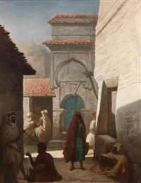 rue à constantine by charles valfort