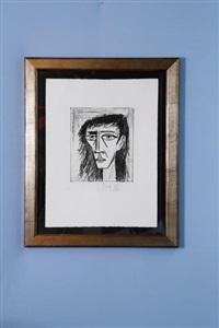 portrait d'anabelle by bernard buffet