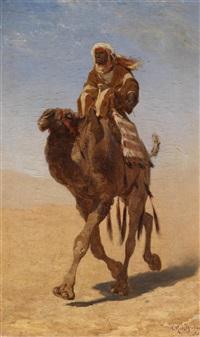 kamelreiter by carl rudolph huber