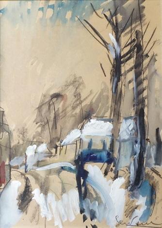 rue sous la neige by gen paul