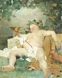bacchus by aime nicolas morot
