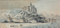vue animée du mont saint-michel (in 3 parts) by ferdinand bourjof