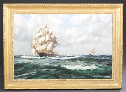 artwork by montague dawson