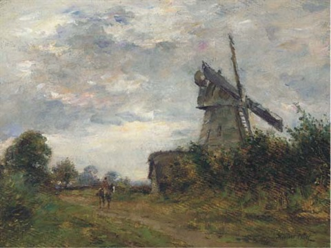 an essex windmill by james herbert snell