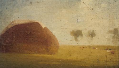 warrandyte landscape by godfrey clive miller